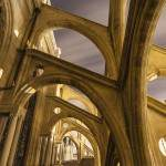 Contreforts et arcs boutants de l'Eglise Saint Eustache