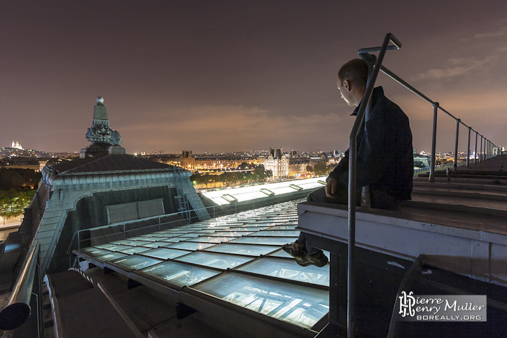 Songe sur une vue de Paris depuis le Musée d'Orsay