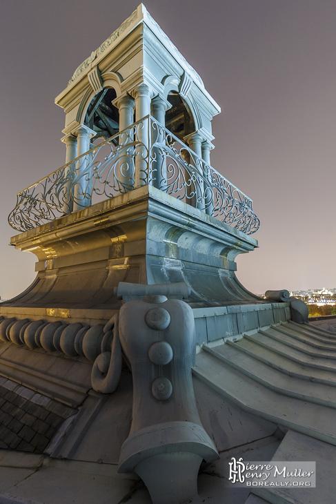 Tourelle sur le toit du musée d'Orsay