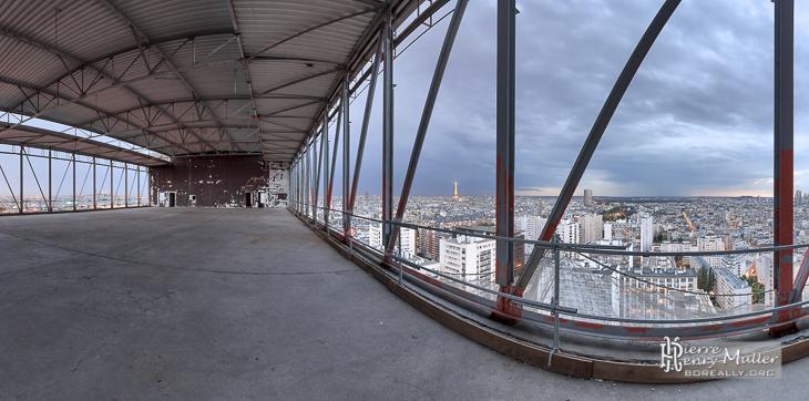Dernier étage de la Tour So Ouest avant travaux