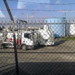 Camion régulateur de kérosène pour avion