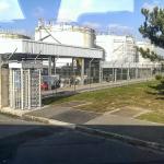 Derniers réservoirs de kérosène à Orly