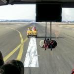 Inspection visuelle de la piste 24 à Orly