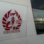 Logo des pompiers de l'aéroport d'Orly