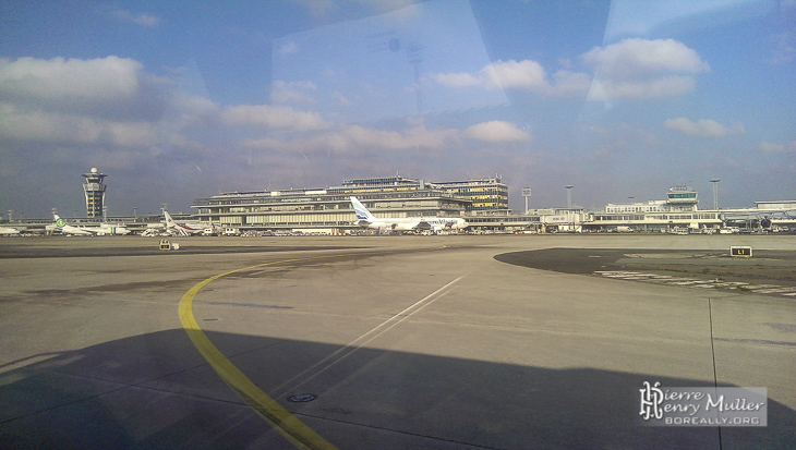 Orly Sud depuis les taxiways