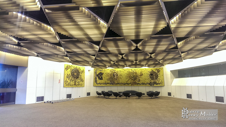 Pavillon de réception des personnalités à Orly