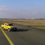 Véhicule d'inspection piste à Orly
