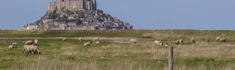 Mont-Saint-Michel et les paysage de la baie