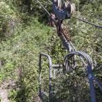 Téléphérique du Mont Saint Michel pour le ravitallement