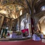 Nef de l'église Saint-Michel de la cité médiévale de Cordes sur Ciel