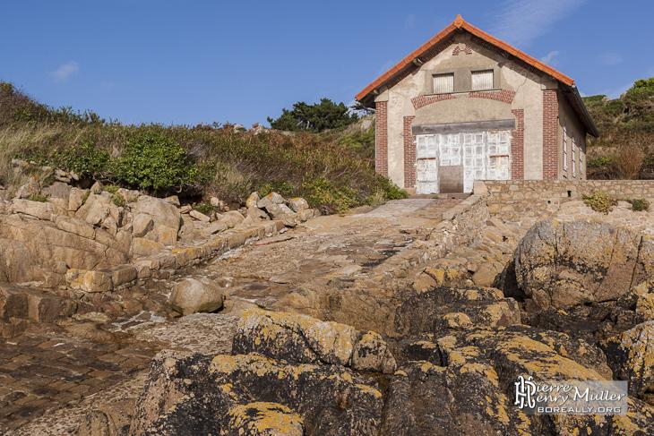 Ancienne base SNSM sur l'Ile de Bréhat