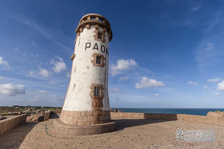 Paysage du phare du Paon sur l'Ile de Bréhat