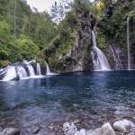 Cascade du Trou Noir à Saint-Joseph à la Réunion en HDR