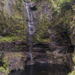 La chute de Bras Patience au barrage de Takamaka à la Réunion