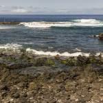 Côte Ouest de l'île de la Réunion avec ses pêcheurs