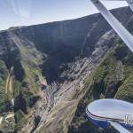 Effondrement à la Plaine des remparts à la Réunion