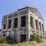 Friche industriell d'une usine de canne à sucre à la Réunion