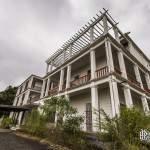 Hôtel abandonné dans le cirque de Cilaos à la Réunion