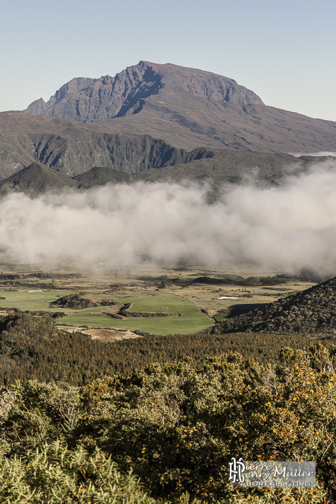 Piton des Neiges et la plaine des Cafres à la Réunion
