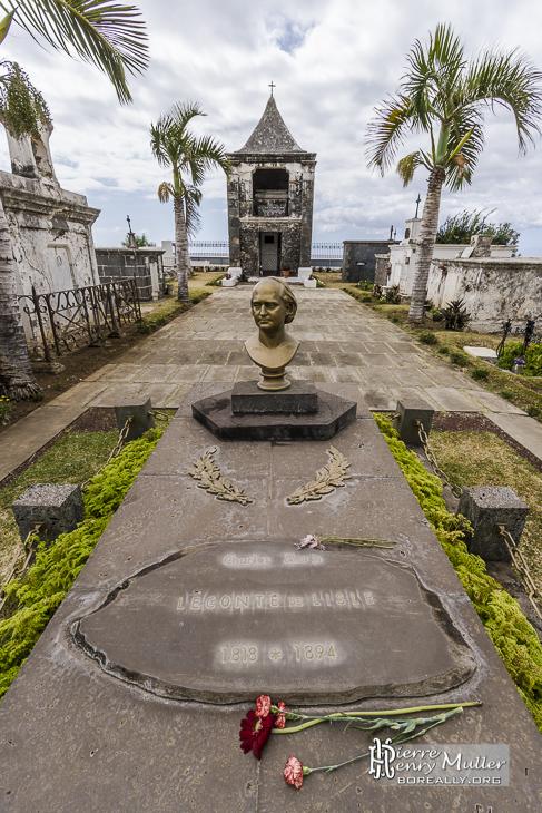 Tombe de Charles Marie René Leconte de Lisle