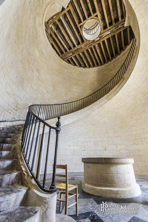 Quatrième étage du phare de Cordouan