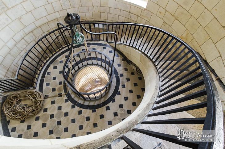 Salle des girondins au troisième étage du phare de Cordouan